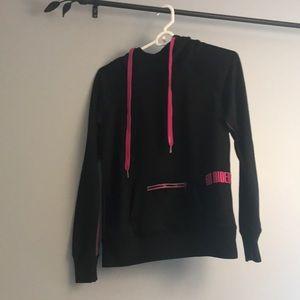 Black and pink FOX hoodie